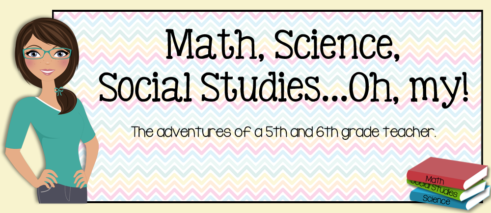 Math, Science, Social Studies......Oh, my!