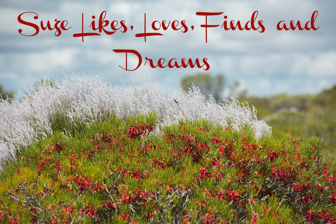 Suze likes, loves, finds and dreams