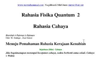 Rahasia Fisika Quantum 2: Rahasia Cahaya