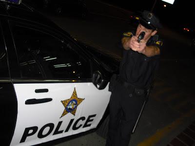 'Wrong Way' masquerading as a Miami cop