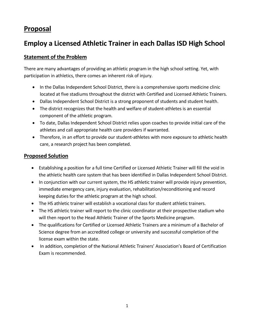 high school athletic budget