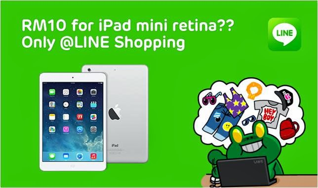 LINE Shopping RM10 Rock Bottom Deal & Name Your Own Price, Line Shopping, Line app, Rock bottom deal, name your own price, shopping app, online shopping app