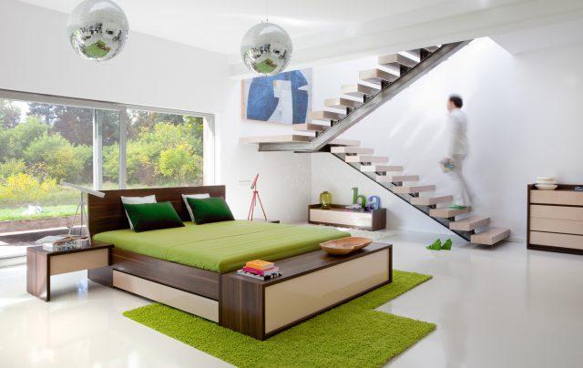 Inspiracje Dekoracje Nowoczesna Designerska Sypialnia Dla