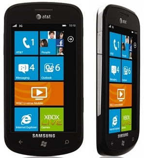 Samsung Focus Windows