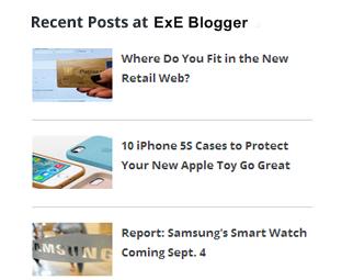 How to Display Simple Recent Posts Widget in Blogger