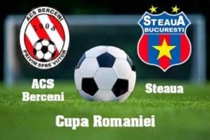 Steaua ACS Berceni cupa romaniei live