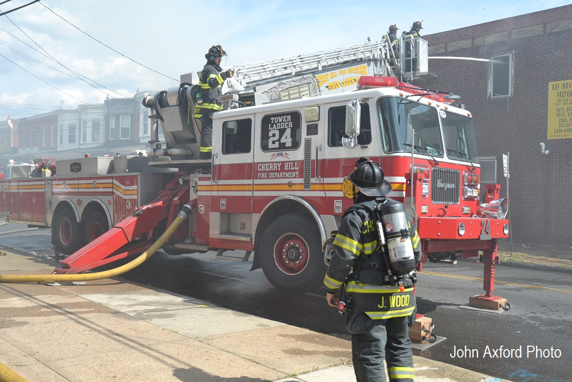 Cherry Hill News Amp Information Tower Ladder 1324 To