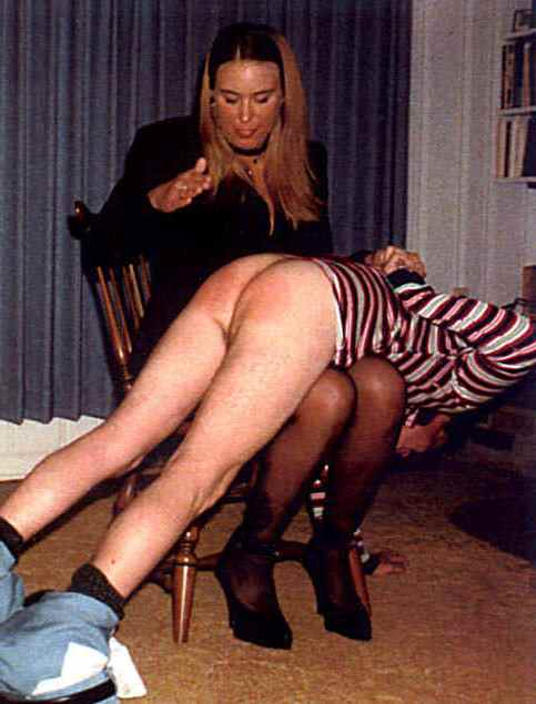 me His mom spanked