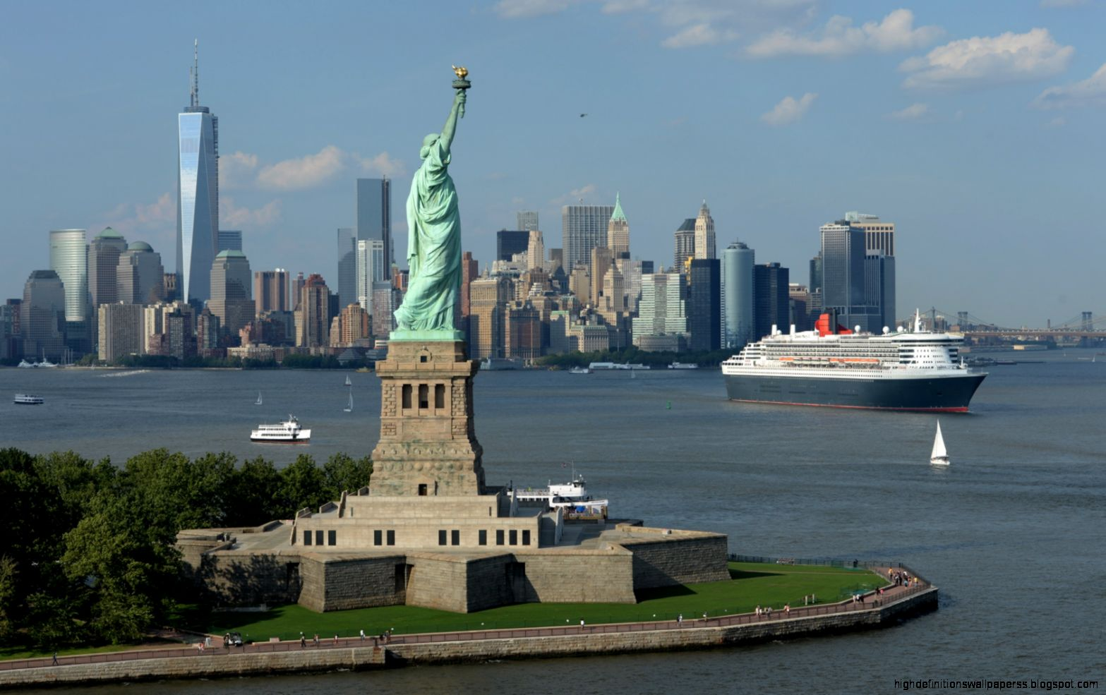 how to visit statue of liberty from new york