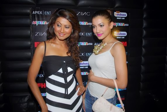 Nigaar Khan with sister Gauhar Khan