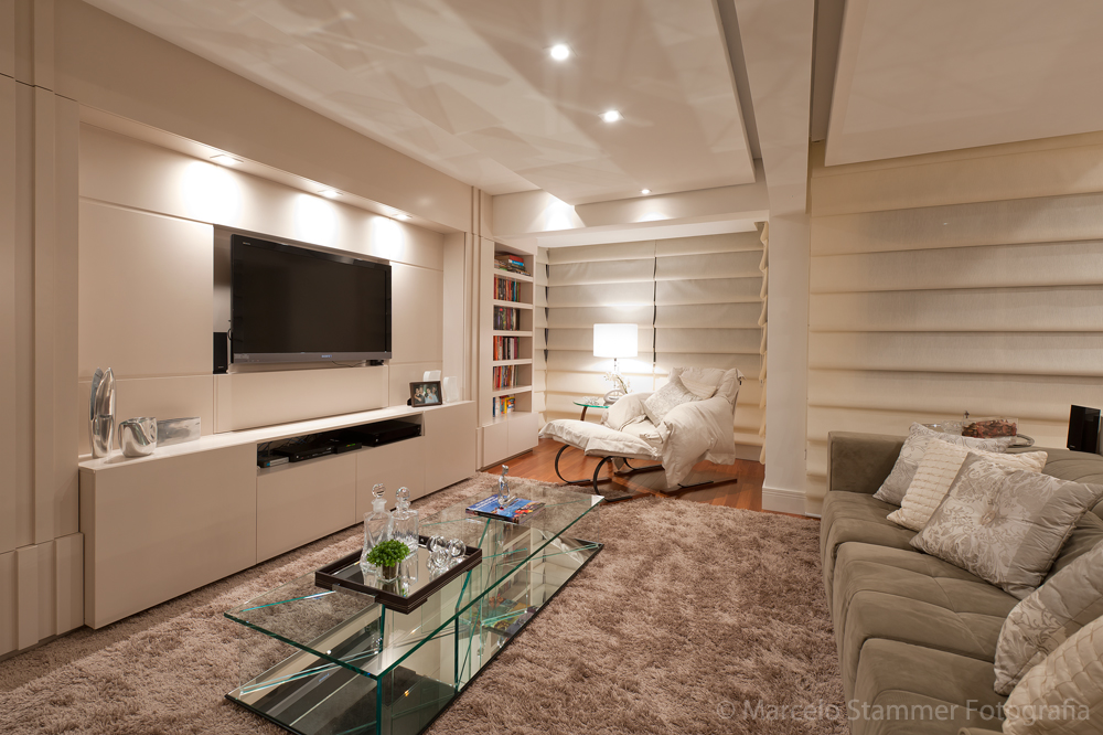 Home Para Sala De Estar ~ SALA DE ESTAR X HOME THEATER  Papo de Design