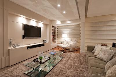 sala de estar e home theater