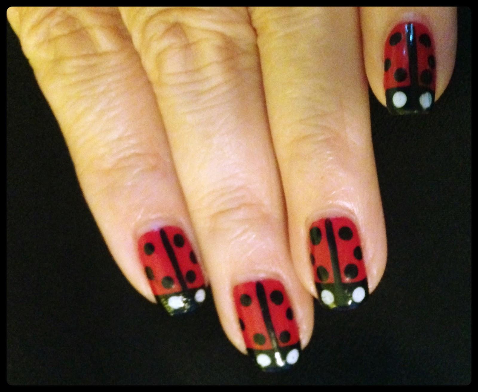 Nails By Mostin Nail Art Ladybug Nails