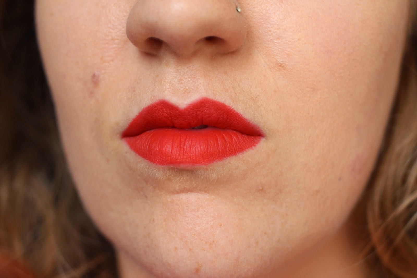 Nars Velvet Matte Lip Pencil Swatch Red Square