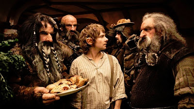 Hobbit Unexpected Journey Bilbo Baggins dwarves party