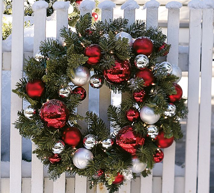 fake green christmas wreaths can be purchased relatively inexpensively at hobby lobby or other craft - Hobby Lobby Christmas Wreaths