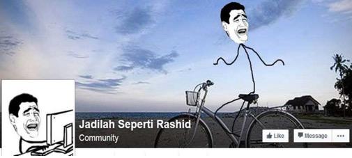 Fakta Menarik Disebalik Pemilik Facebook Jadilah Seperti Rashid