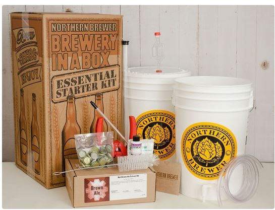 Northern Brewer Deluxe Home Brewing Equipment Starter Kit - Chinook IPA Beer Brewing Recipe Kit Glass Carboys - Glass Carboys Fermenter with Equipment For Making 5 Gallons Of Homemade Beer. by Northern Brewer. $ $ FREE Shipping on eligible orders. out of 5 stars