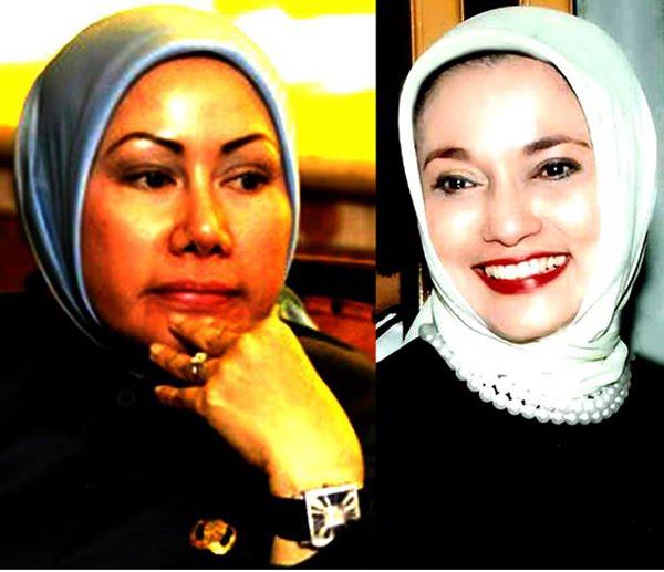 Ide untuk Banten ( Rekonsiliasi Marissa Haque & Ratu Atut Chosiyah), 2010