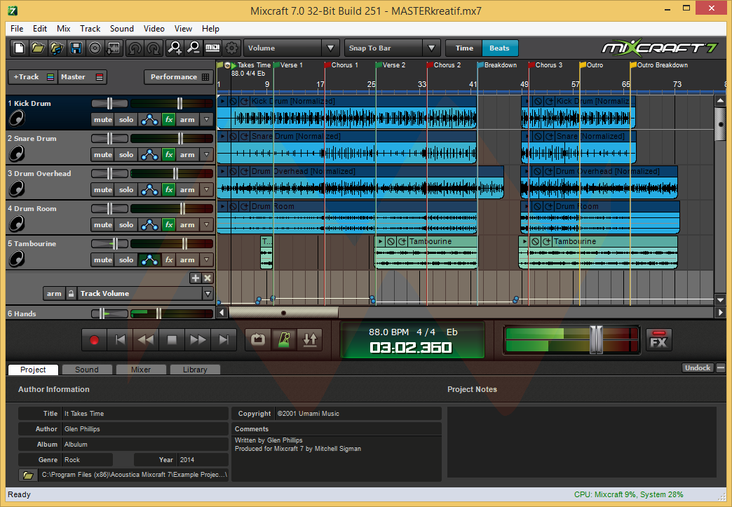 Acoustica Mixcraft 7 Pro Download
