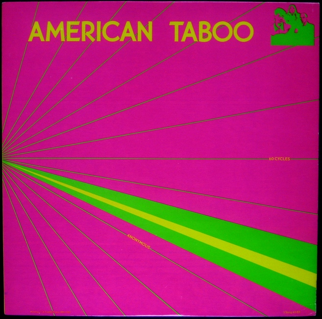 American Taboo - 60 Cycles / Anonymous / Ritual Breakout (1983)