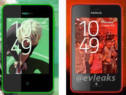 Nokia Asha 501 dan 210