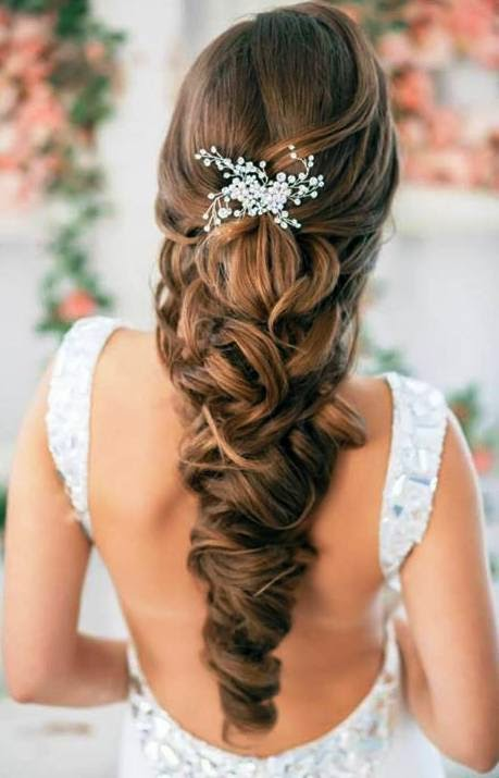 blonde hair wedding styles