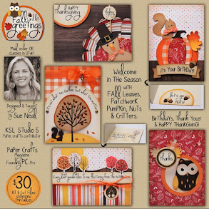 Fall GREETINGS Card Kit