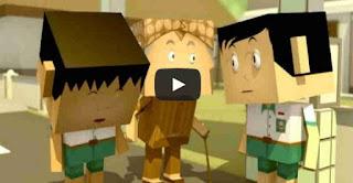 animasi kartun 3d mbah mitro