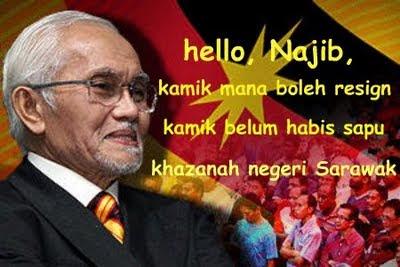 Menteri, ADUN Sarawak dapat kenaikan gaji