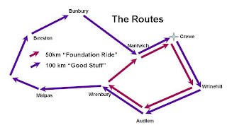 Routes Foundation Rides   9th June