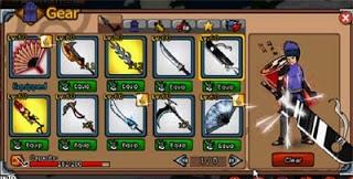 Update Hot !!Cheat Open All in Shop Ninja Saga 2013