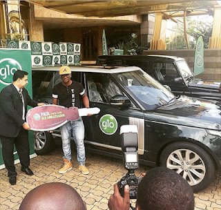 P Square get brand new G Wagon and Range Rover Sports in Glo Deal!