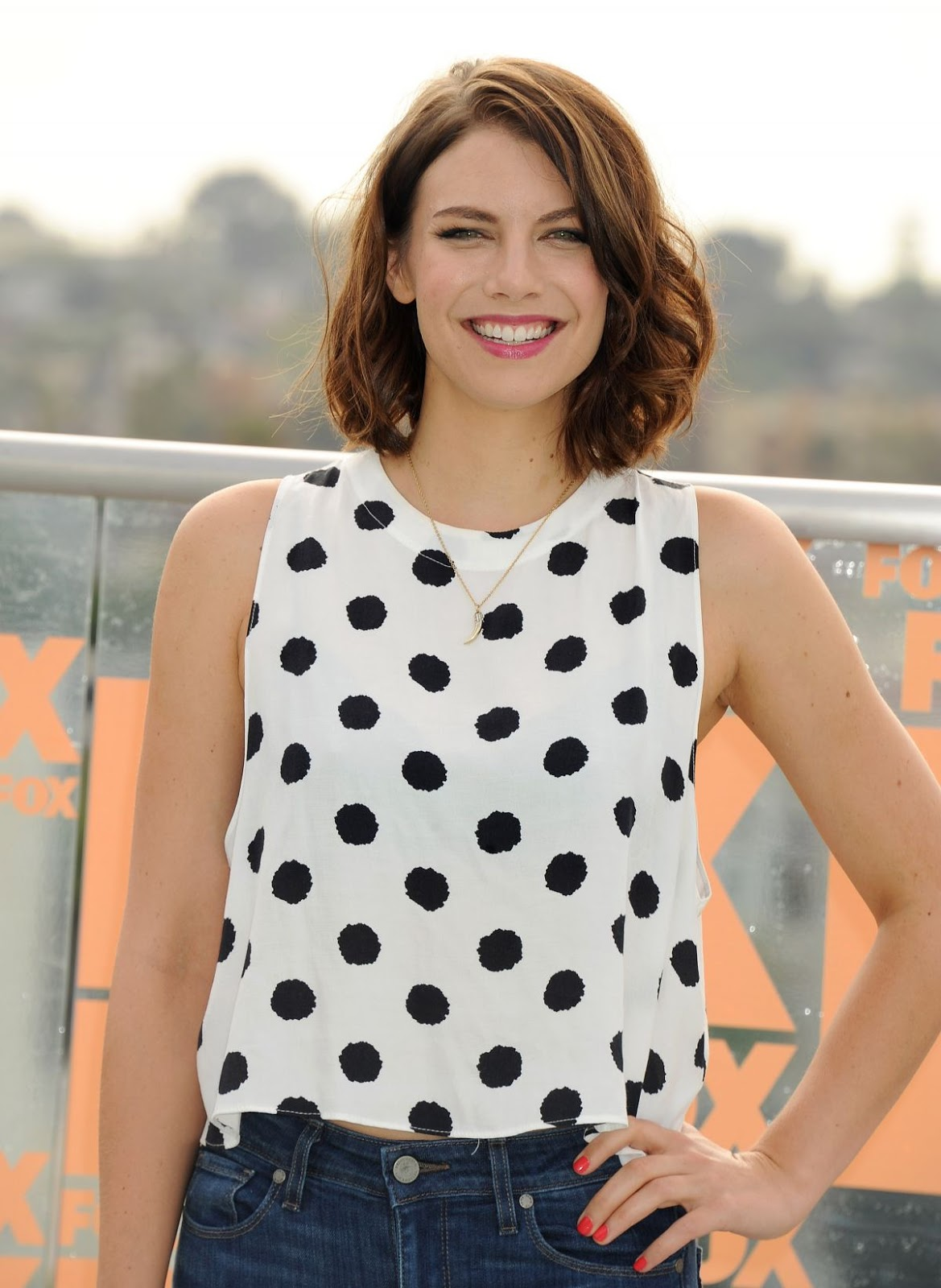 A Slice Of Cheesecake Lauren Cohan