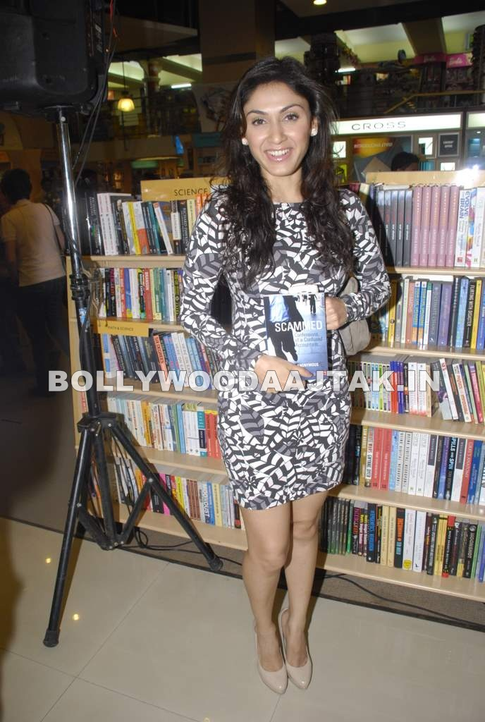 , Manjari Phadnis At Scammed Book Launch By Ahmed Faiyaz