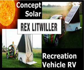 Click for Rex, creator of the e-bike solar RV trailer