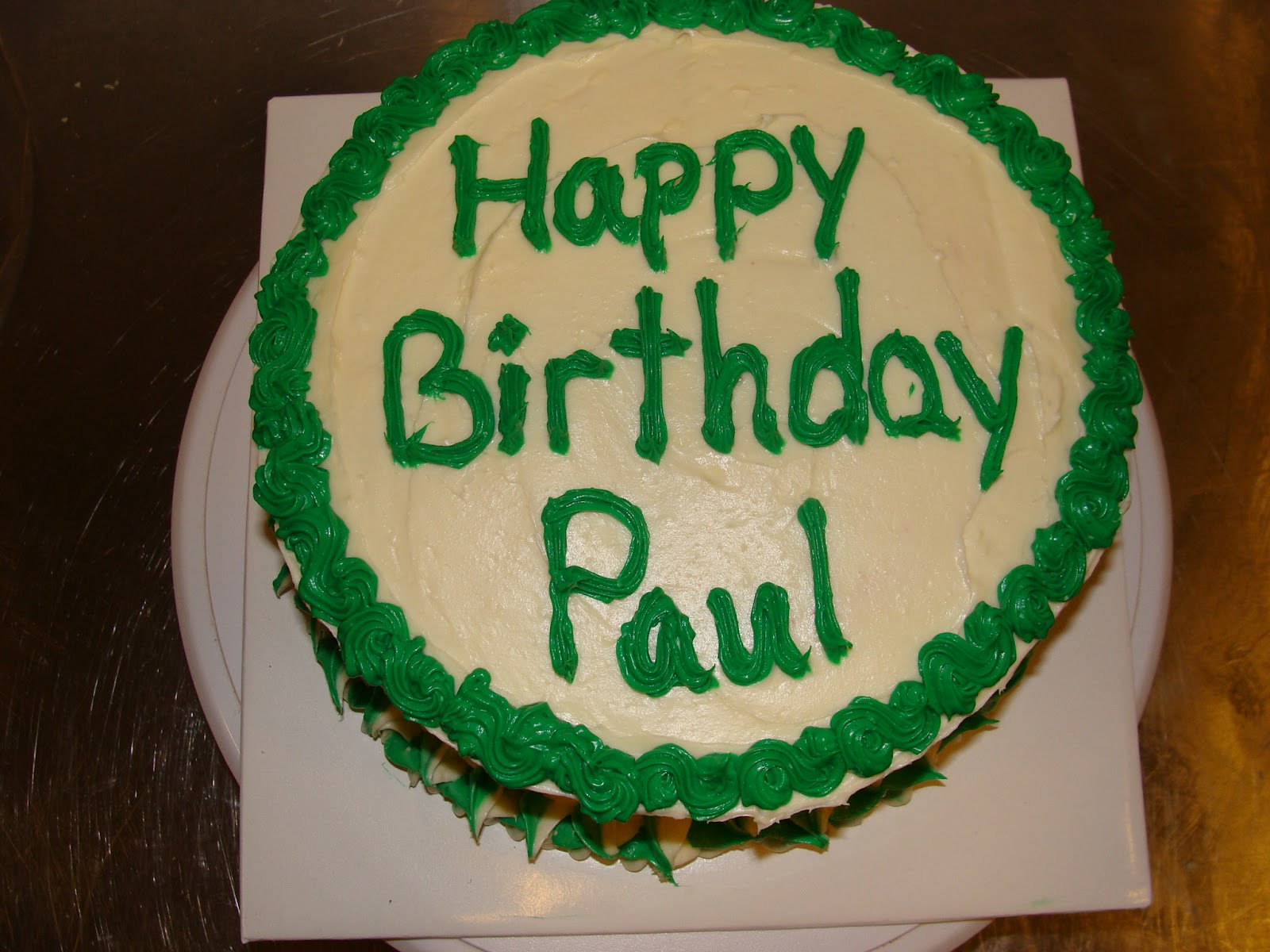 paul birthday cakes