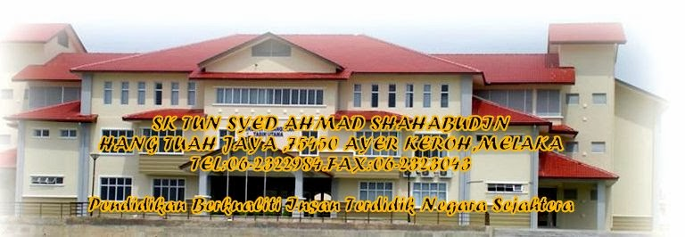 SEKOLAH KEBANGSAAN TUN SYED AHMAD SHAHABUDIN