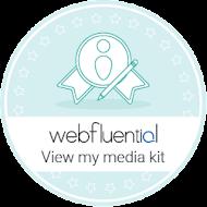 Webfluential Accredited Influencer