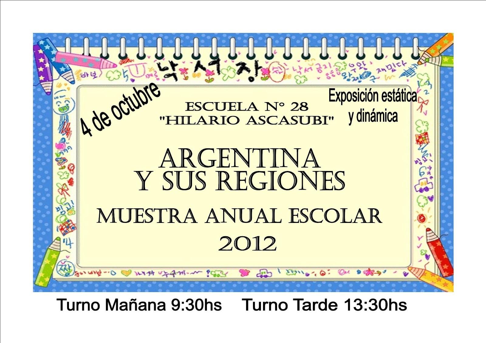Boletín informativo de la Escuela 28 de Quilmes: octubre 2012
