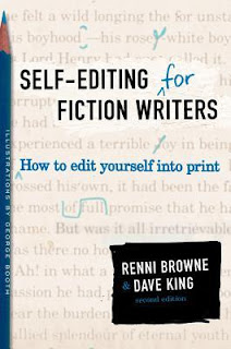 Self-Editing for Fiction Writers by Renni Browne on Amber, the Blonde Writer blog