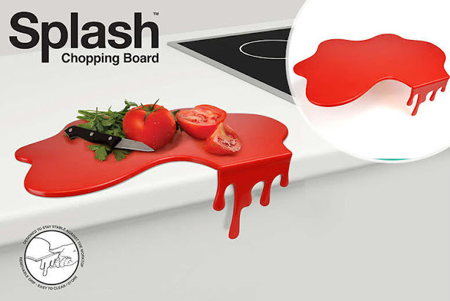 Splash Chopping Board | Interesting Vegetable cutting board design