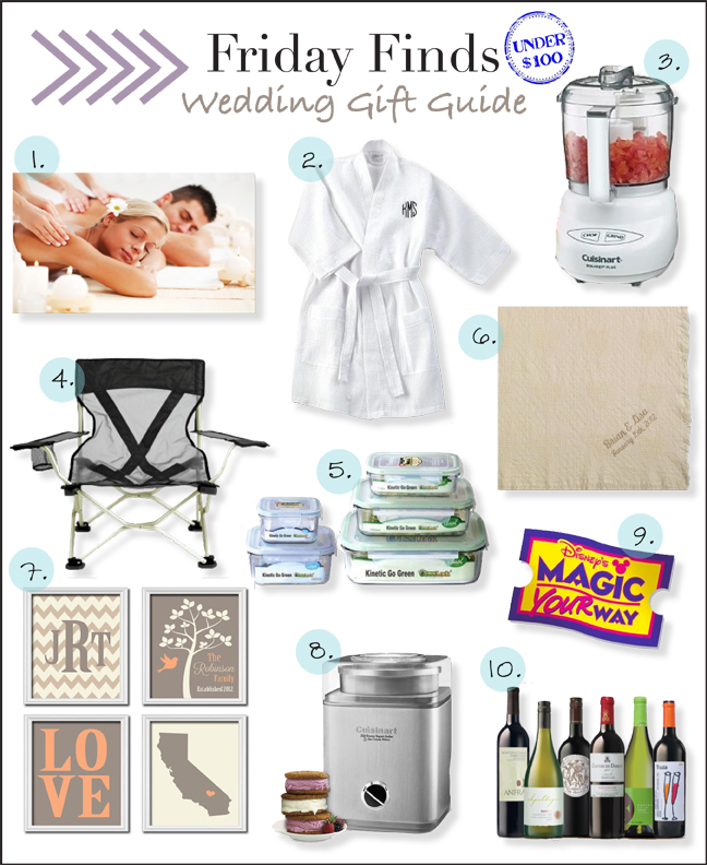 my thrifty chic: Friday Finds: Wedding Gifts Under USD100