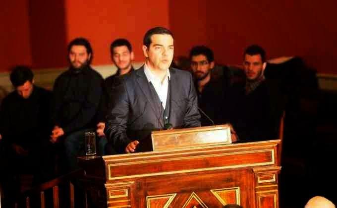 Εκτός τόπου και χρόνου ο ανιστόρητος Τσίπρας: Προσβολή στους Αγωνιστές του '21 η ομιλία του στο Πανεπιστήμιο