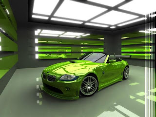 Gambar-Mobil-Modifikasi-BMW-Foto-BMW-Modifikasi-BMW-Z4-Green-Metalic