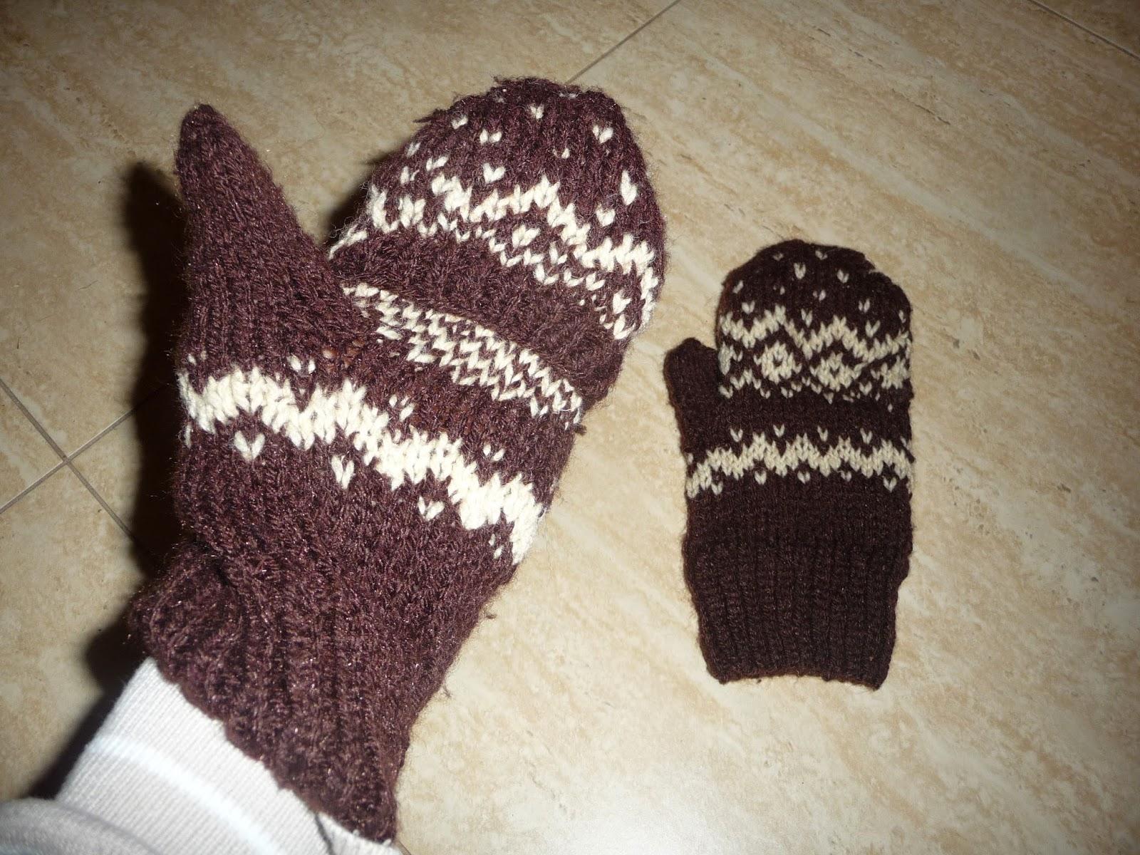 jak zrobić rękawiczki