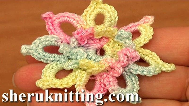 Sheruknitting: Crochet Small Flower