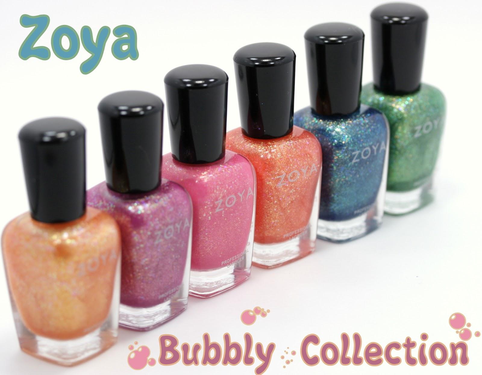 Zoya Bubbly Collection