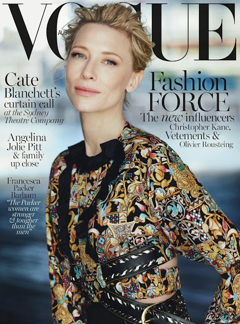 Actress, @ Cate Blanchett - Vogue Australia, December 2015