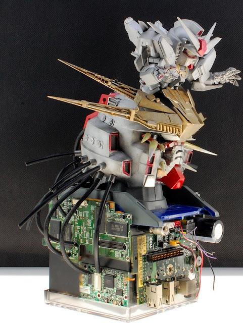 SD Devil Gundam Customized with high details
